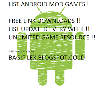 List Game Android MOD