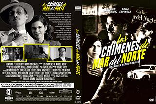 Los Crimenes de Mas del Norte - Cover DVD
