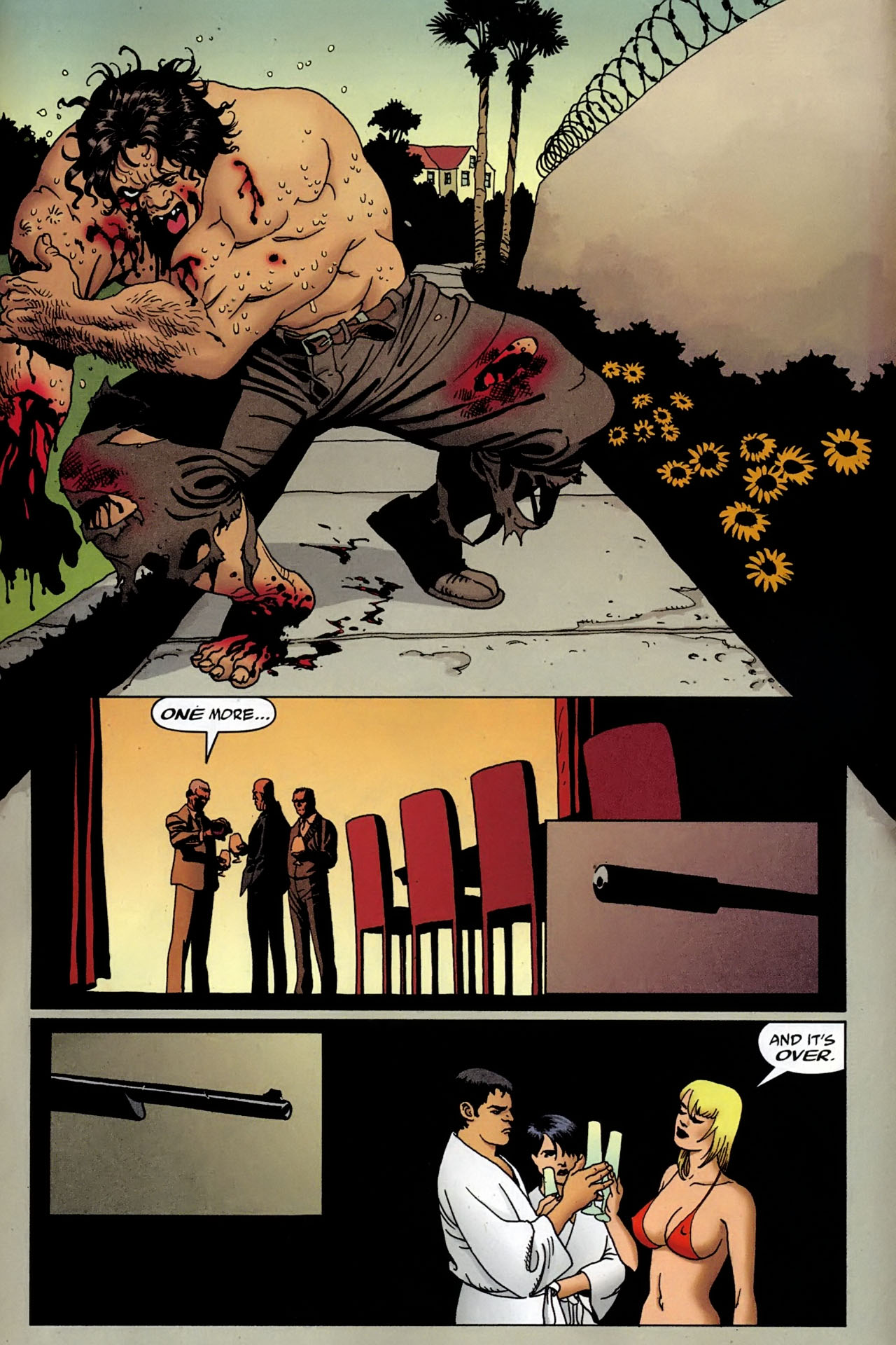 Read online 100 Bullets comic -  Issue #97 - 22