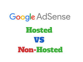 Differences between Google AdSense Hosted and Non-Hosted Account