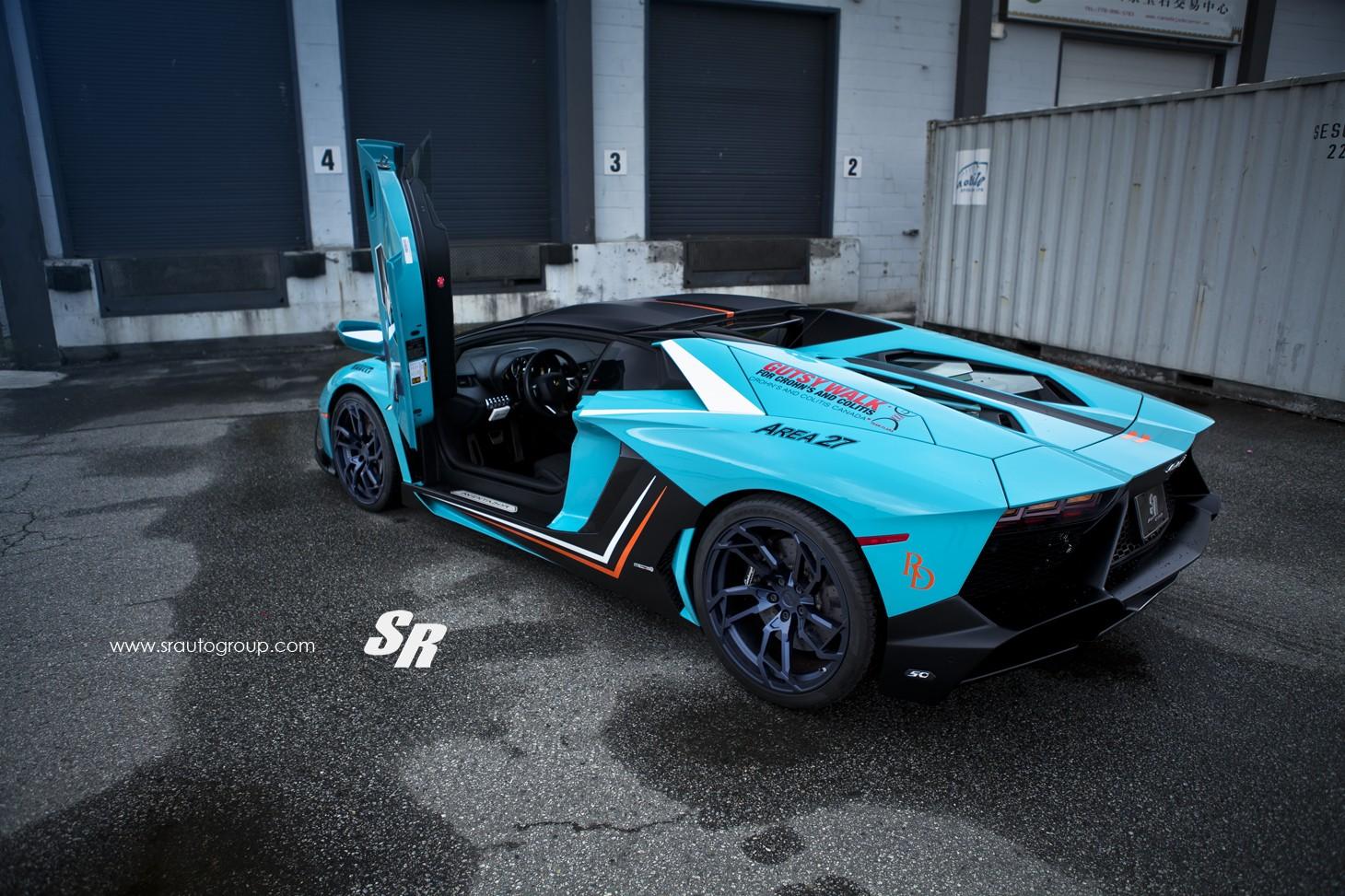 Soulsteer Com Blue Lamborghini Aventador Lp 700 4 Sits On Black Pur