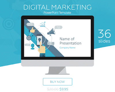 Digital Marketing PowerPoint Template -PresentationDeck.com