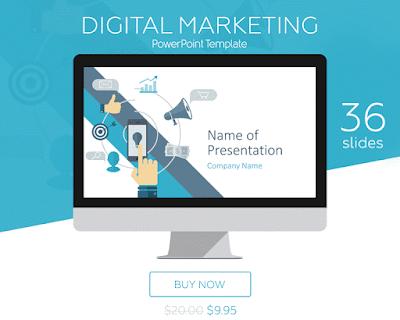 Digital Marketing PowerPoint Template -PresentationDeck.com