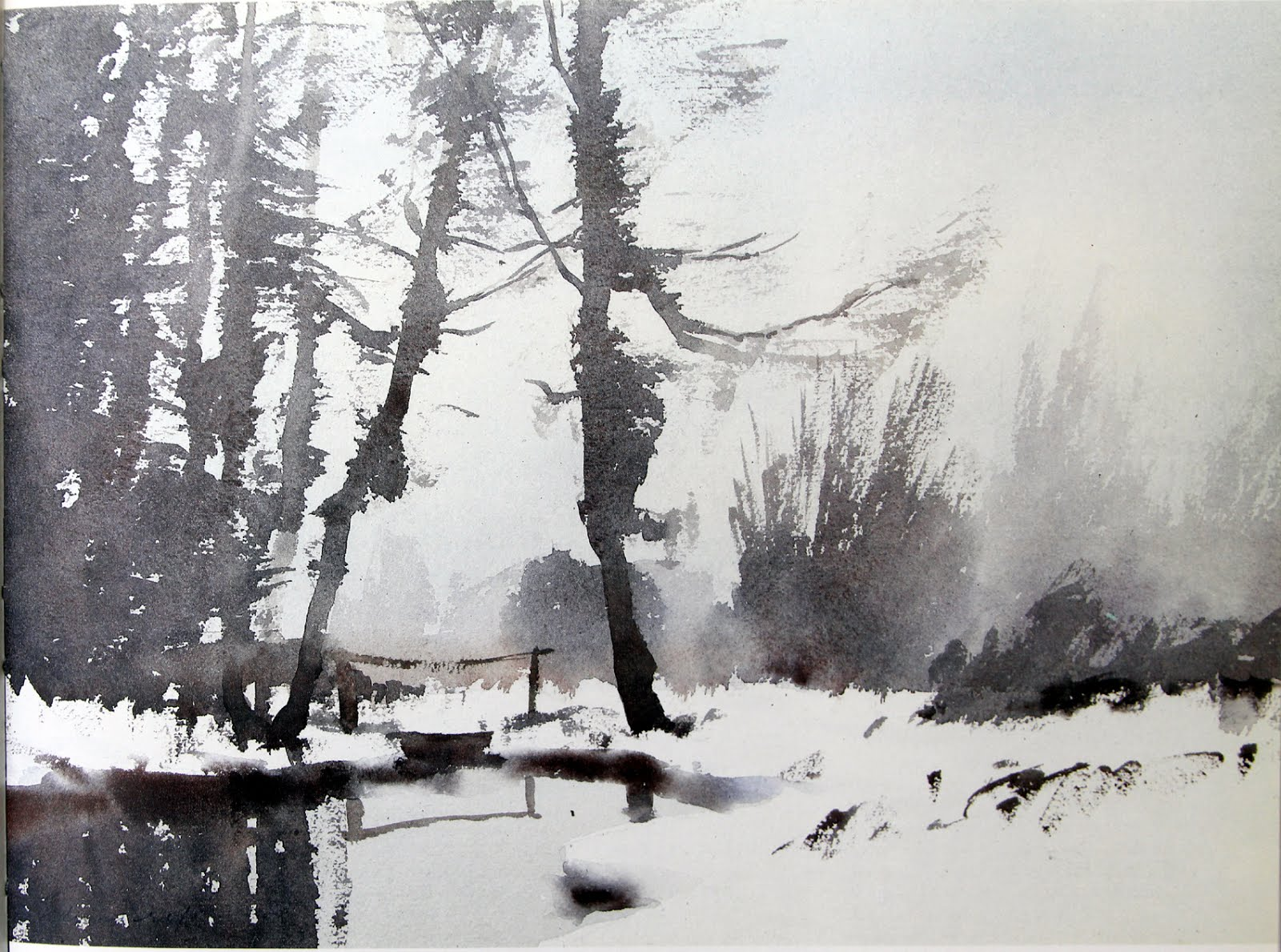 The Watercolour Log: Watercolour Paintings (31)