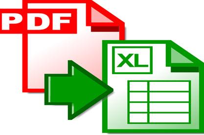 تحويل ملفات ال PDF الى Excel بكل سهولة