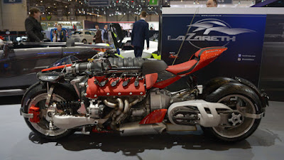New Lazareth LM 847 engine