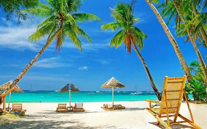 kumsalda keyifli yaz resimleri