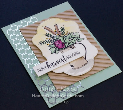Heart's Delight Cards, Country Home, Country Lane Suite, Sneak Peek, Corrugated Dynamic TIEF, Stampin' Up!