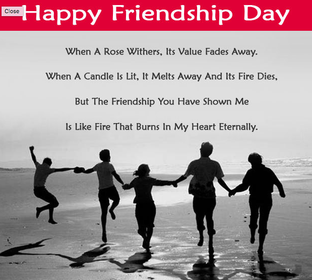 Friendship Day 1 Line Thoughts