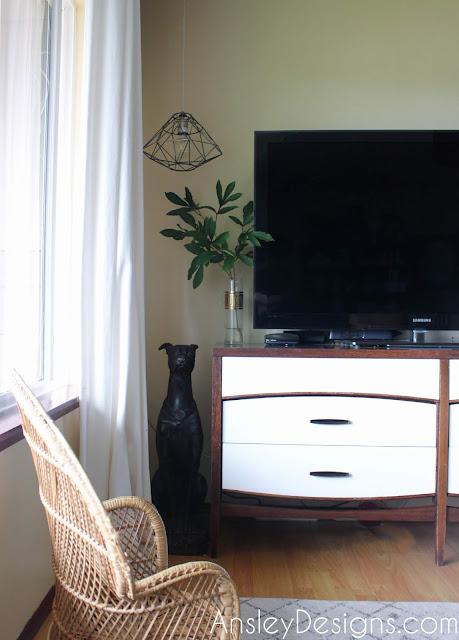 Midcentury Modern TV Stand Dresser