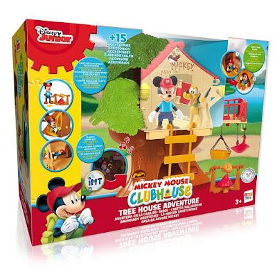 TOYS : JUGUETES - DISNEY   La Casa de MICKEY MOUSE  Aventura en la Casa del Arbol  Producto Oficial Serie Disney Junior 2016  IMC Toys 181892 | A partir de 3 años  Comprar en Amazon España