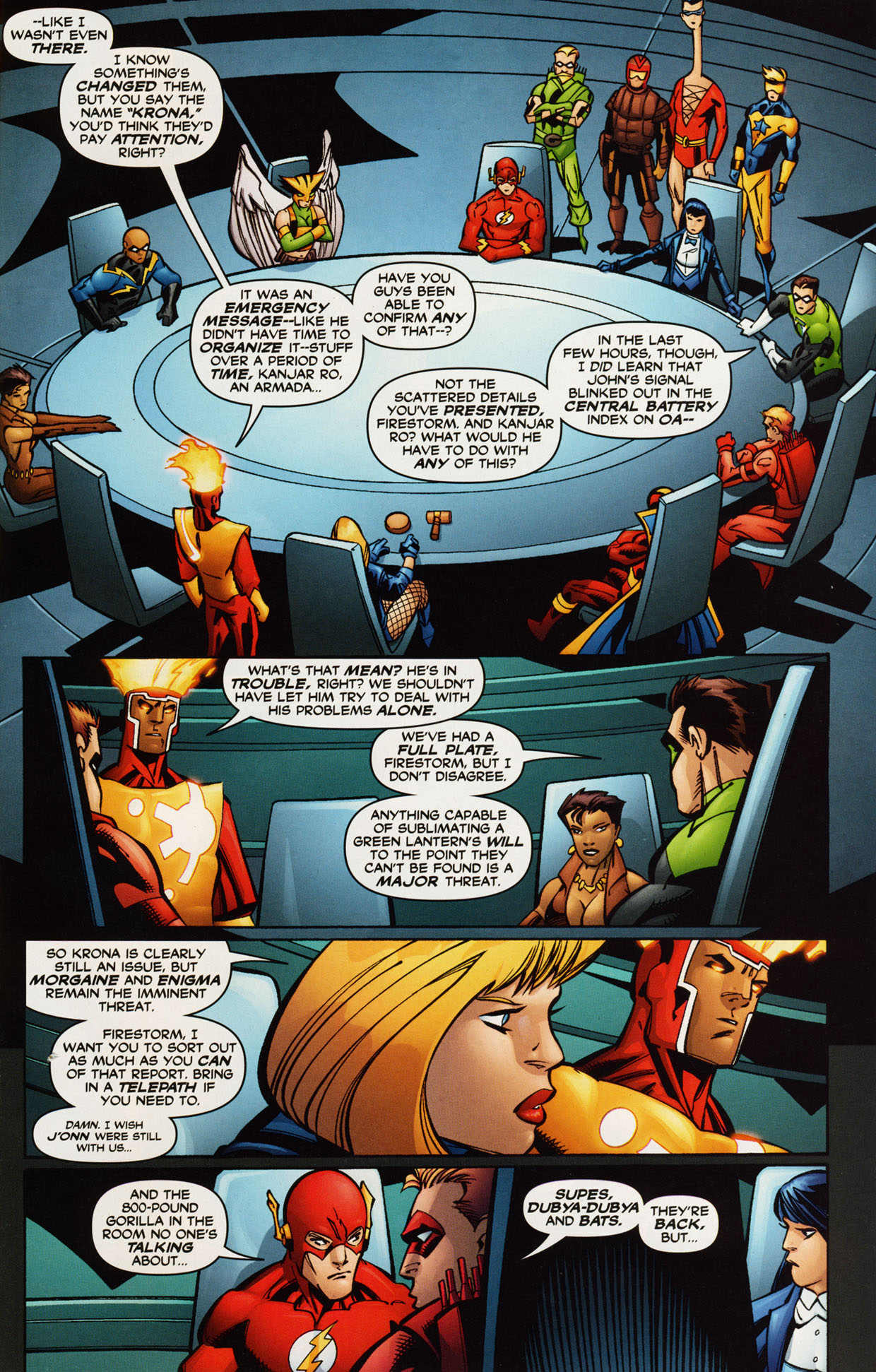 Read online Trinity (2008) comic -  Issue #42 - 25