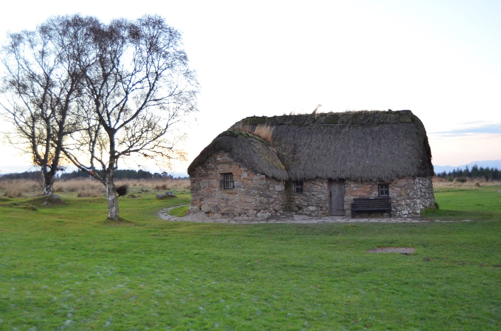 Culloden Scotland Jacobite Rebellion Old Leanach Cottage Culloden Battlefield Outlander Season 3