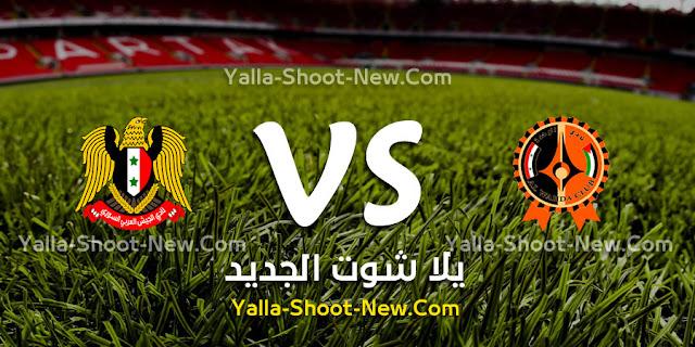 مشاهدة مباراة الوحدة السوري والجيش السوري بث مباشر بتاريخ 20-09-2019 الدوري السوري الممتاز