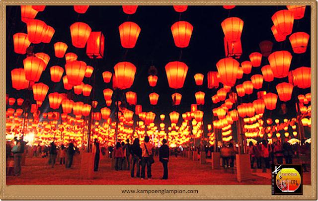 Lampion Teng Tengan Pesanan Klien Dari Jogjakarta