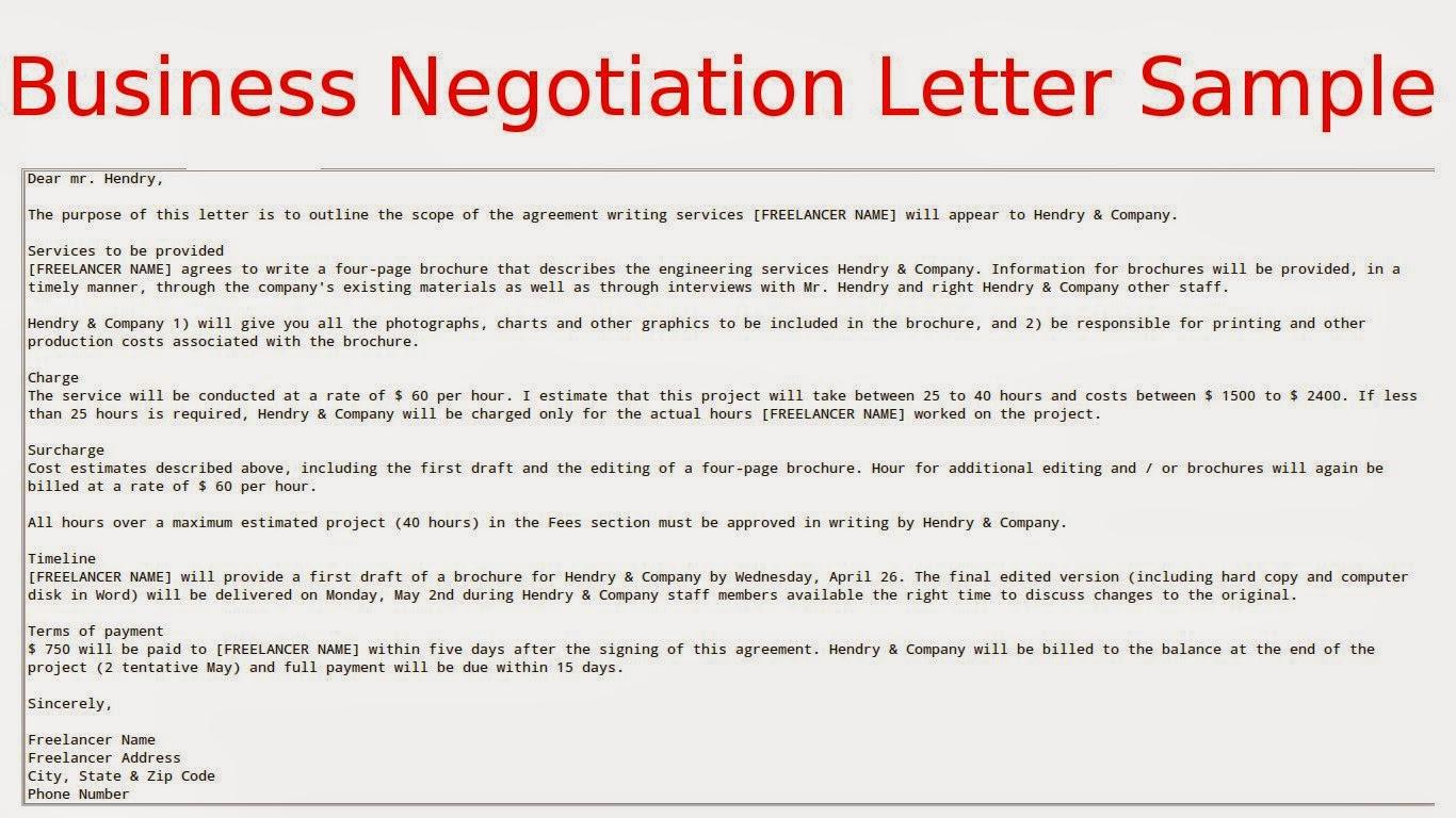 Salary Negotiation Letter Templates salary offer negotiation