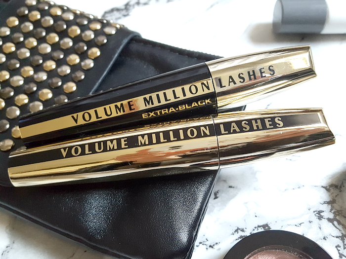 Review: L´Oréal Volume Million Lashes Mascaras Black & Extra Black - ca. 10.- Euro