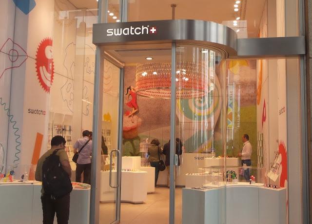 Loja da Swatch no Corso Vittorio Emanuele