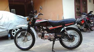 Dijual Honda WIN100 Tahun 2000 Simpenan