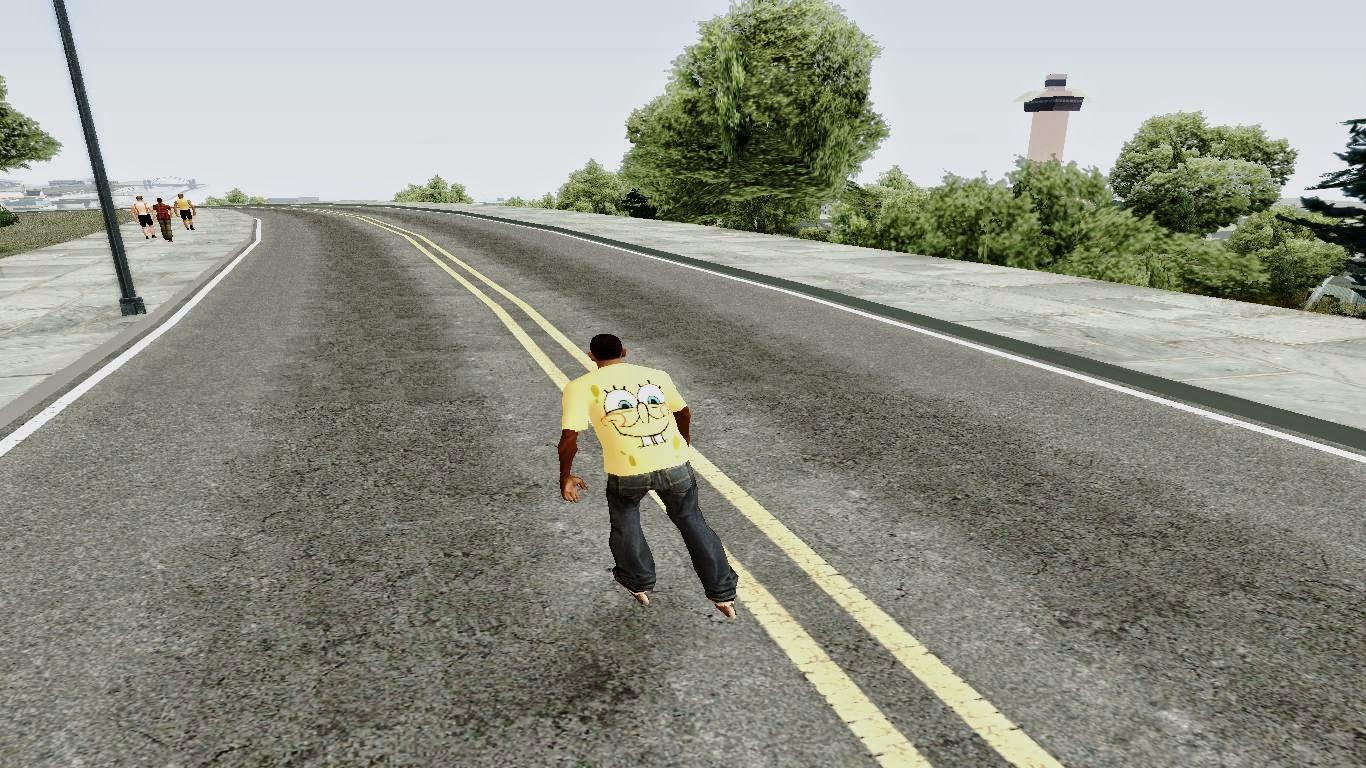 Roller Skates Gta San Andreas 3