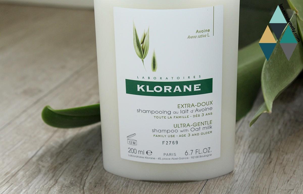 shampooing au lait d'avoine