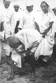 Salt March led by Mahatma Gandhi