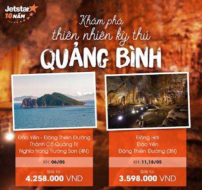 Khám phá thiên nhiên kỳ thú ở Quảng Bình