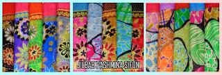 Update stok jilbab pashmina sifon motif terbaru 2015