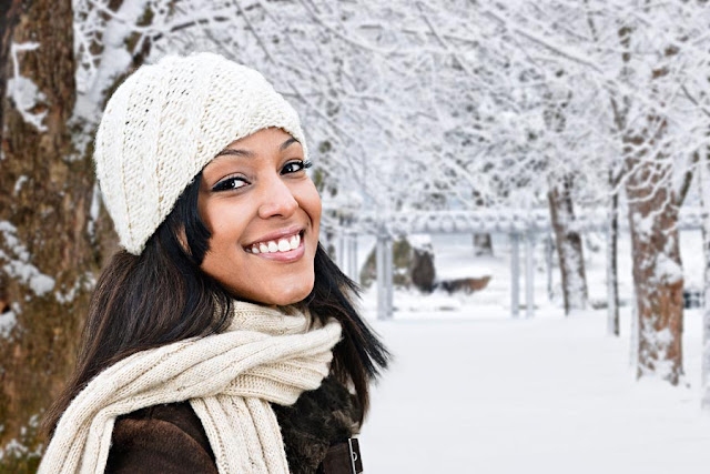 Winter Hair and Makeup Survival Tips