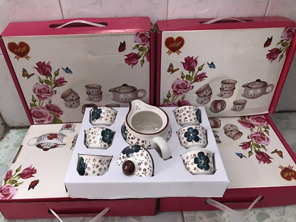 55k - Bộ tách trà Nhật Bản Hoa Văn giá sỉ và lẻ rẻ nhất