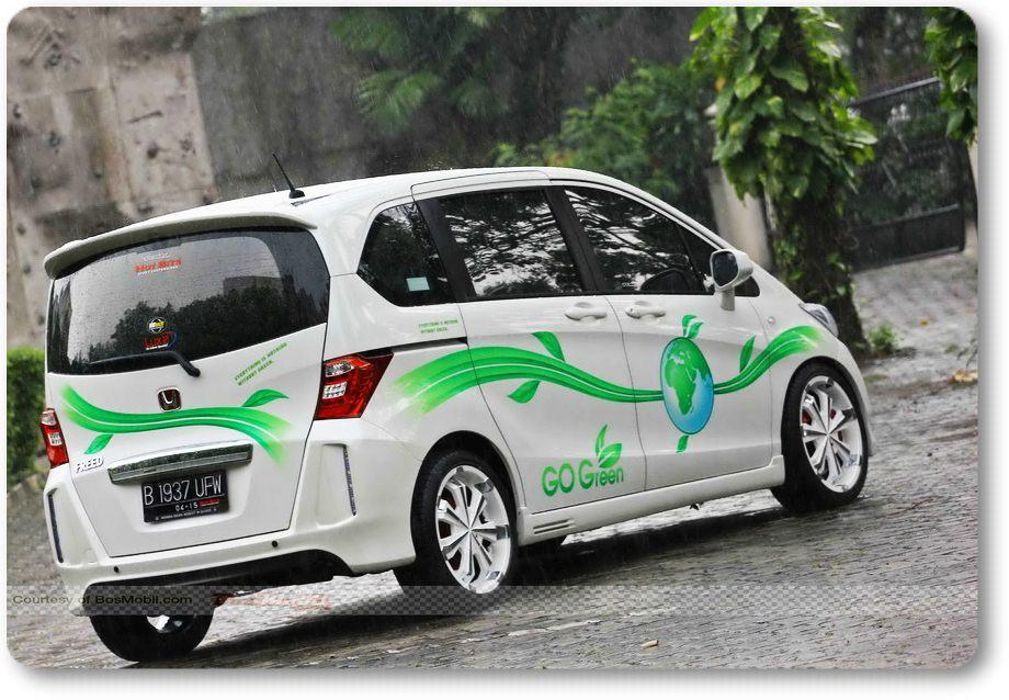 MODIFIKASI Honda Freed ~ Automotive Cars