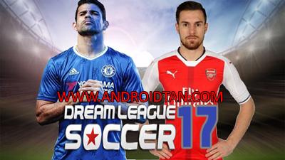 Download Dream League Soccer 2017 Mod Apk + Data v4.03 (Unlimited Money/Coins) Terbaru 2017