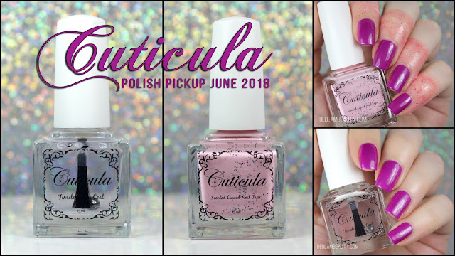 Cuticula Two for June | Polish Pickup June 2018 | Video Games
