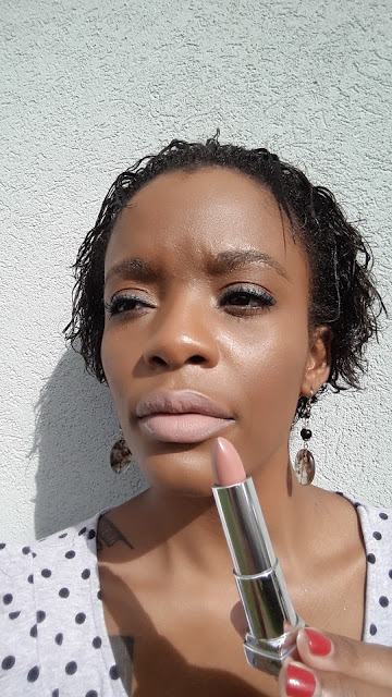 Maybelline Creamy Matte '665 Daringly Nude' swatch www.modenmakeup.com