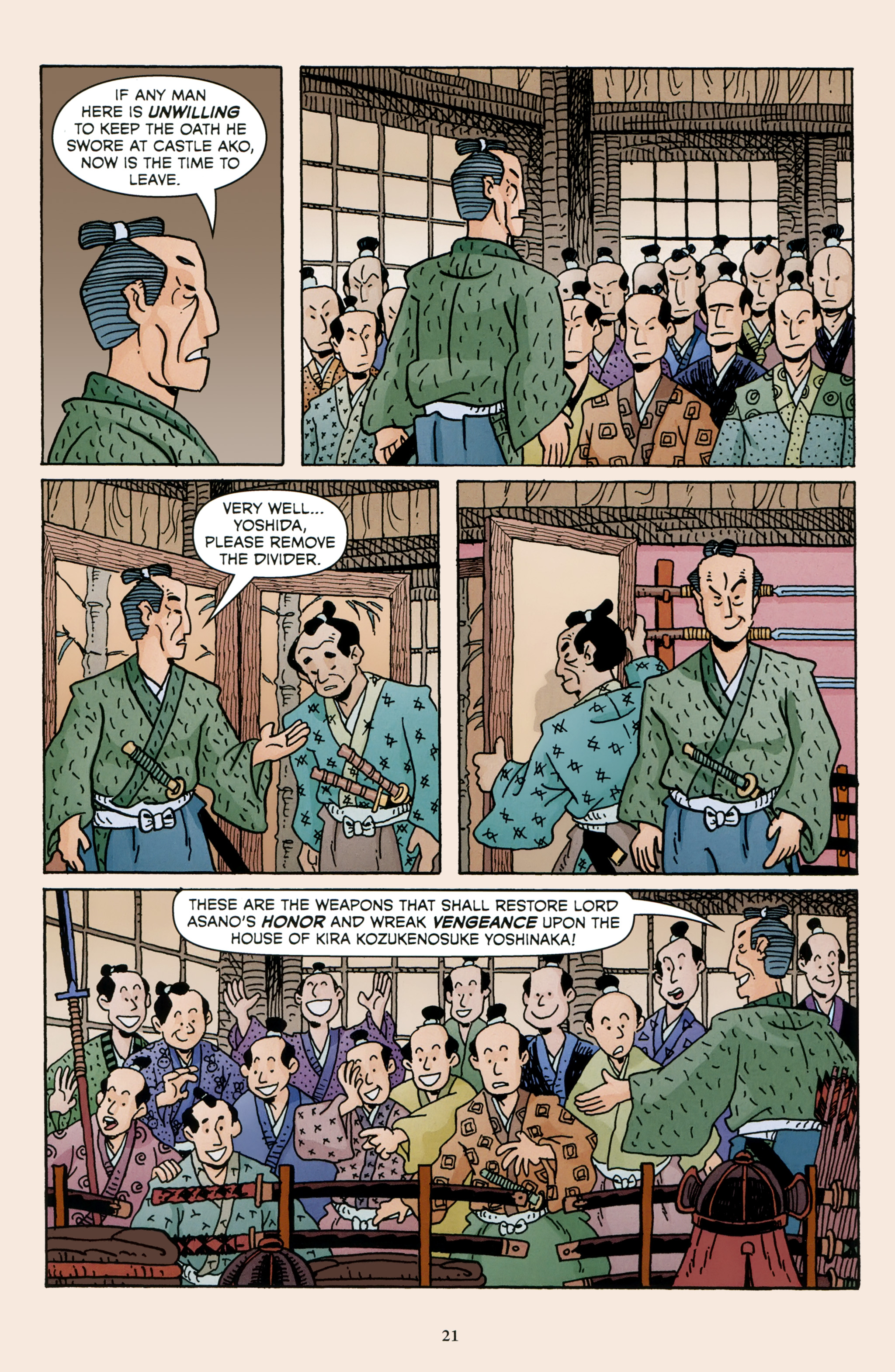 Read online 47 Ronin comic -  Issue #4 - 23