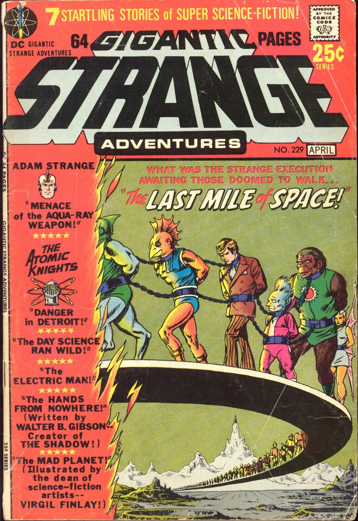 Strange Adventures (1950) issue 229 - Page 1
