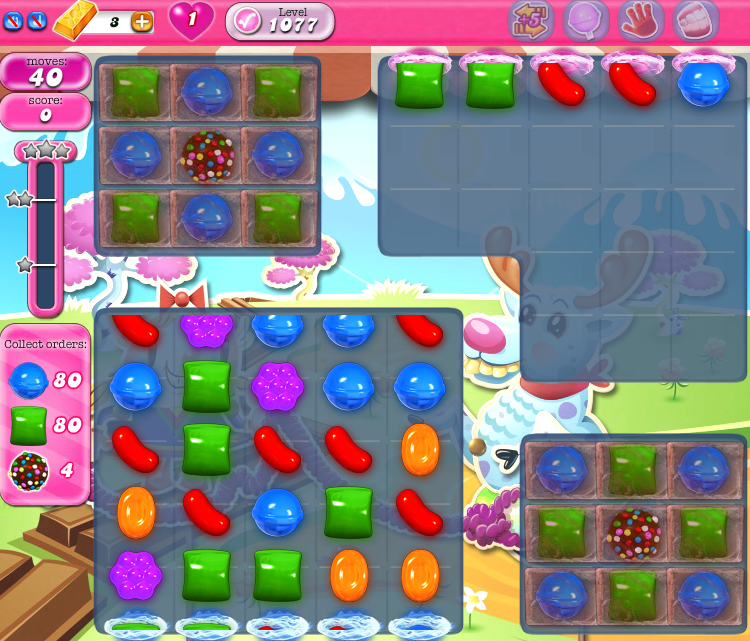 Candy Crush Saga 1077