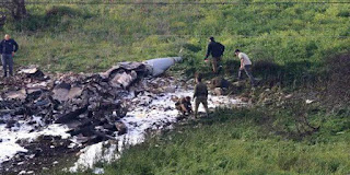 Israeli F-16 jet downed by Syrian anti-aircraft missile