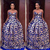 Beautiful Nigerian  Ankara Prom Dress For Ladies