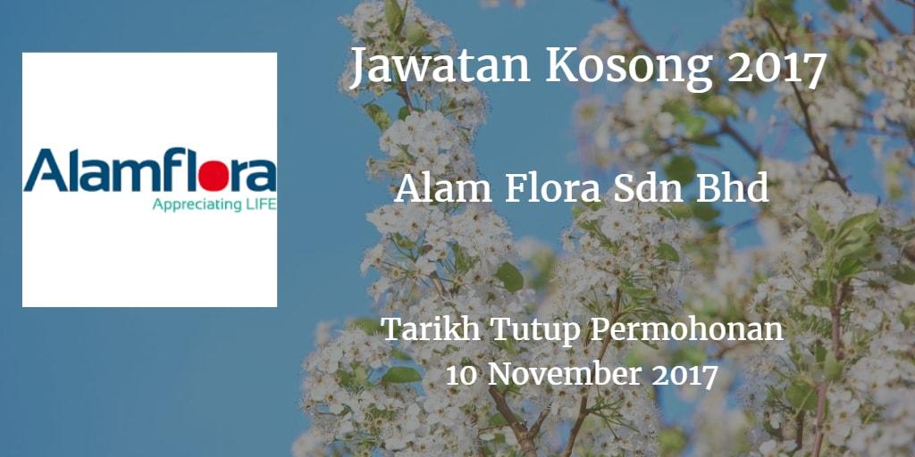 Jawatan Kosong Alam Flora Sdn Bhd 10 November 2017