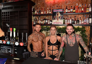 Nicole Bass, Zahida Allen and Masie Gillespie Super sexy Three Girls of the Show Ex On The Beach in Haunted Pub wearing tiny bikini Hot boobs Thongs Ass wow