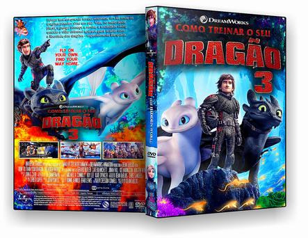 CAPA DVD – Como Treinar o Seu Dragão 3 – ISO – CINEMA