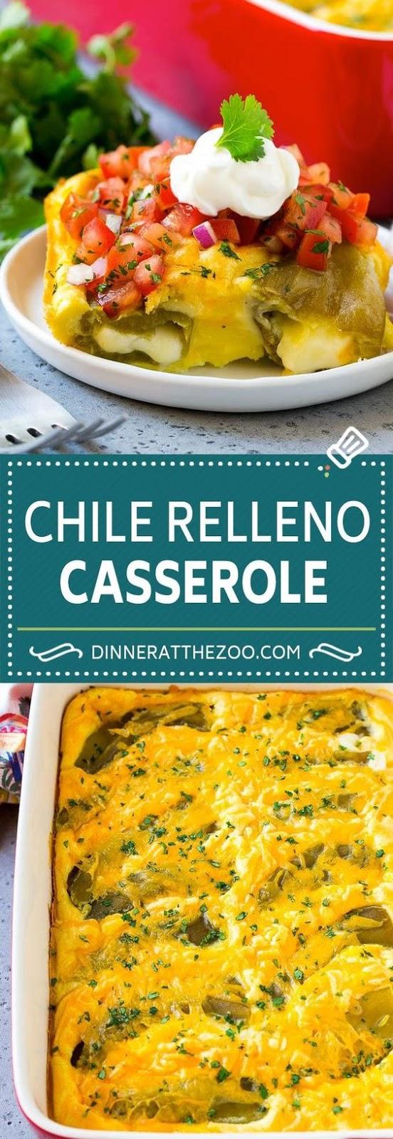 Chile Relleno Casserole