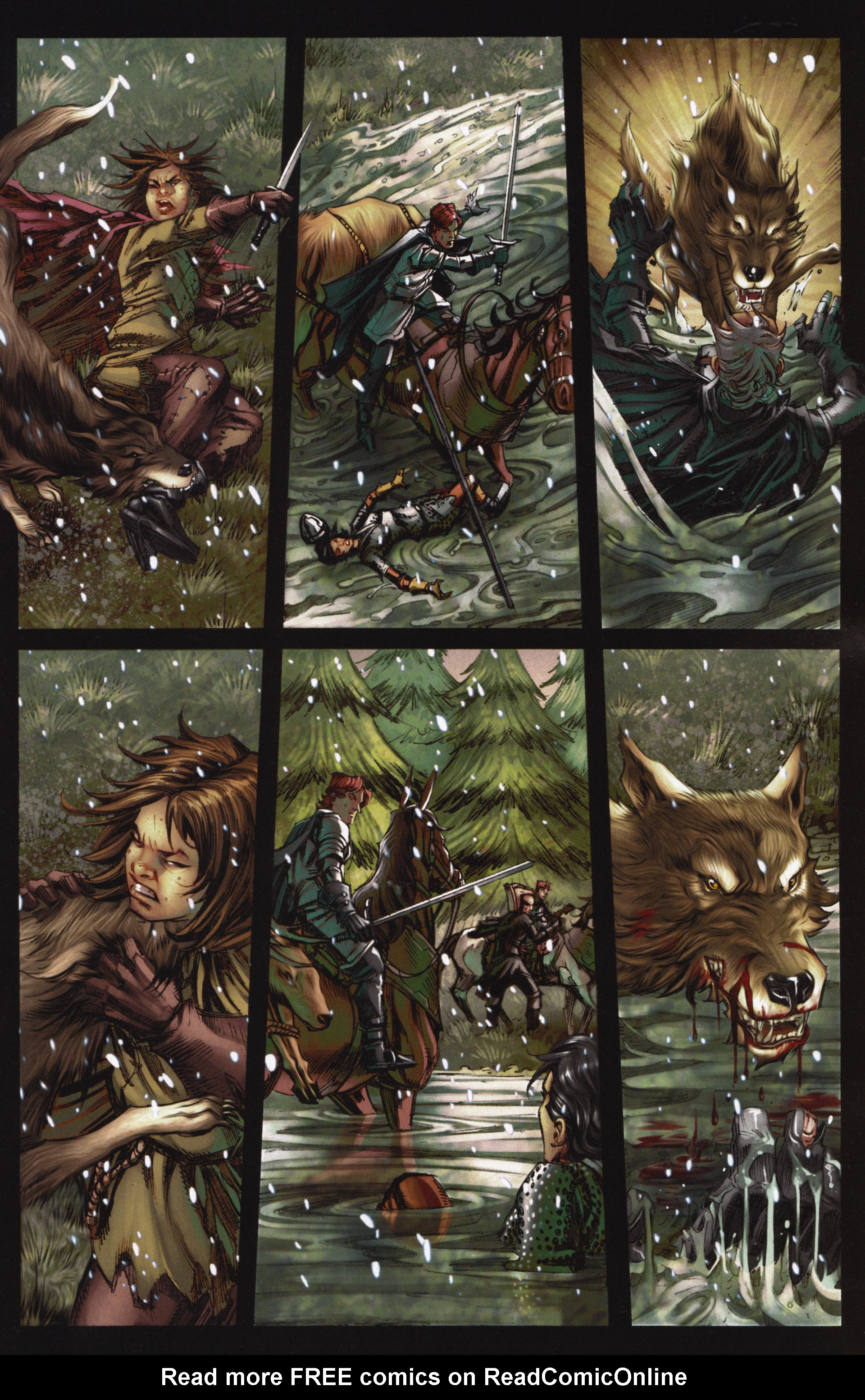 Read online A Game Of Thrones comic -  Issue #12 - 11