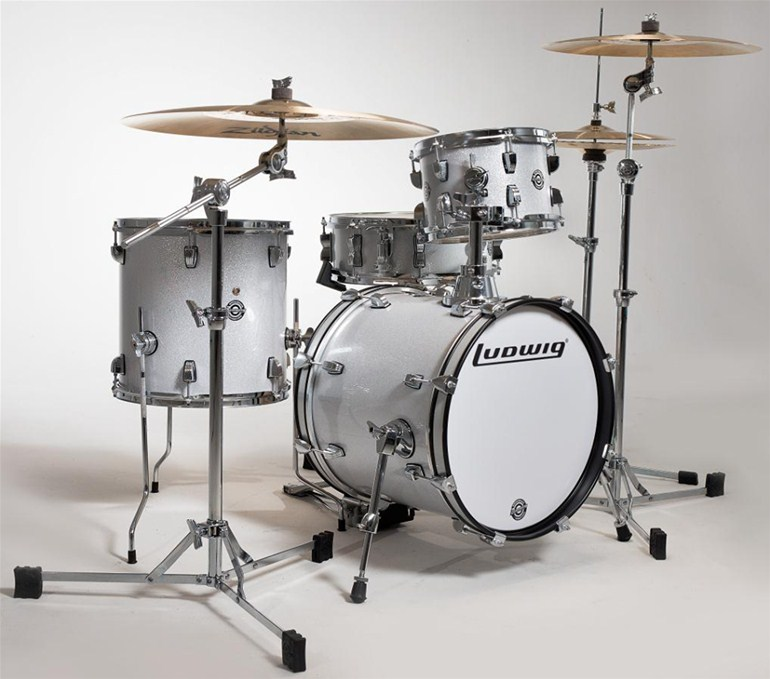 the musician 39 s blog ludwig breakbeats by questlove drum kit review. Black Bedroom Furniture Sets. Home Design Ideas