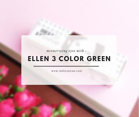 Contact Lenses : Ellen 3Color Green*