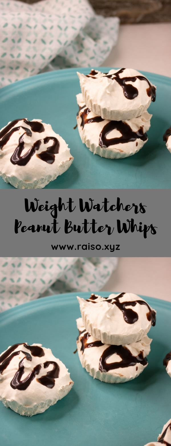 Weight Watchers Peanut Butter Whips#dessert #weightwatchers
