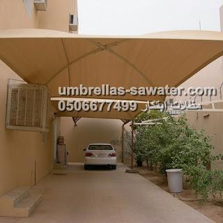 عمل وتركيب مظلات خارجية للمنازل
