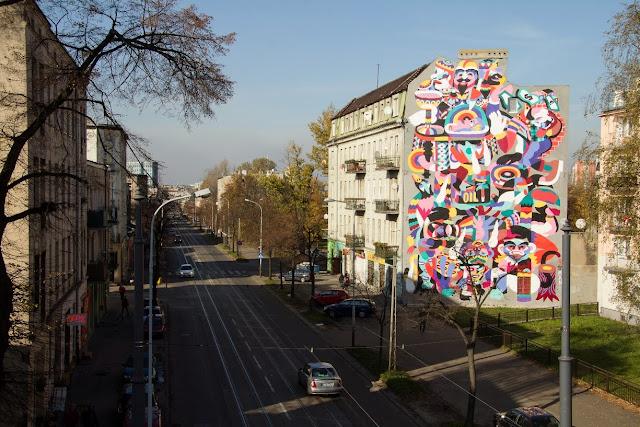 New Street Art By 3TTMAN In Lodz, Poland For Fundacja Urban Forms Festival 2013. 7