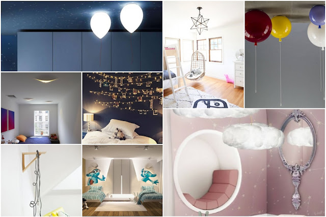Special Lighting Designs For Children's Rooms 2018